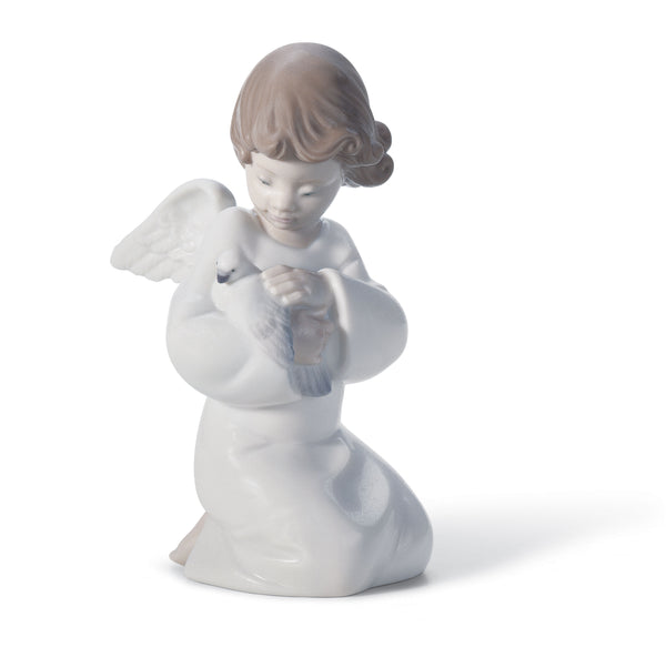 Lladro Loving Protection Angel Figurine - Dalmazio Design