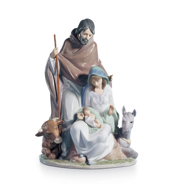 Lladro Joyful Event Nativity Figurine - Dalmazio Design