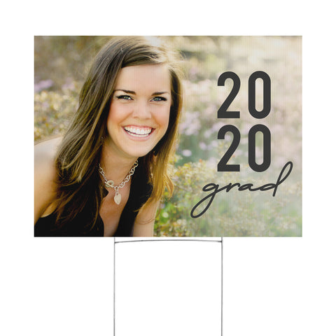 Personalized Special Year Yard Sign