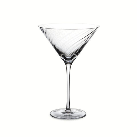 Twist Diamond Martini Glass