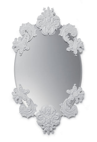 Lladro Oval Mirror without Frame Wall Mirror. Limited Edition - Dalmazio Design