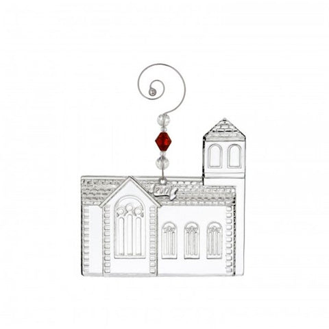 2017 Chrystal Dimensional Church Ornament - LAST IN STOCK