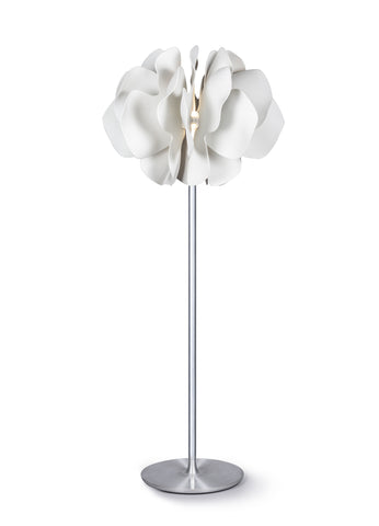 Nightbloom Floor Lamp. White. (US)