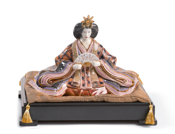 Lladro Hina Dolls - Empress Sculpture. Limited Edition - Dalmazio Design