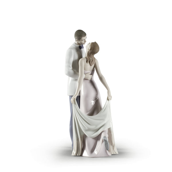 Happy Anniversary Couple Figurine