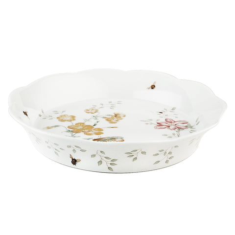 Lenox Butterfly Meadow Pie Dish - Dalmazio Design