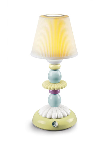 Lotus Firefly lamp (green & blue)