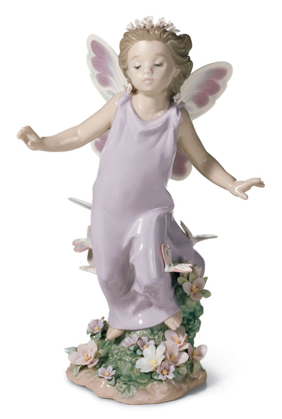 Lladro Butterfly Wings Fairy Figurine - Dalmazio Design