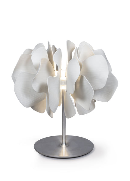 Lladro Nightbloom Table Lamp. White. (US) Dalmazio Design