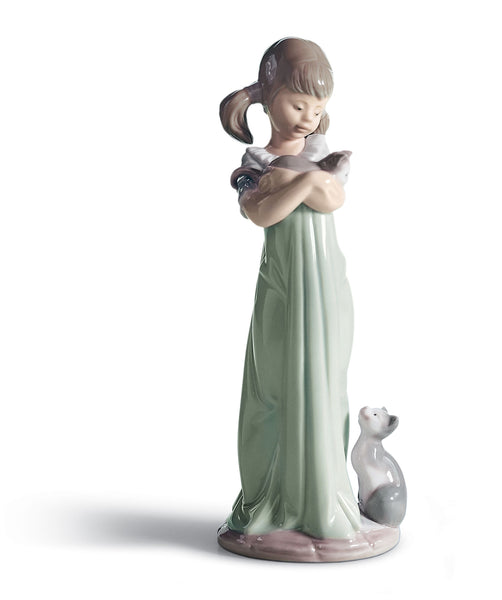Lladro Don't Forget Me Girl Figurine - Dalmazio Design