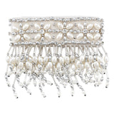 "Olivia Riegel ""3"""" Emily Candle Cuff with Silver Beads"" - DISCONTINUED Dalmazio Design"