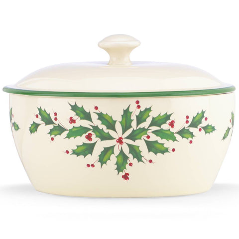 Lenox Hosting The Holidays™ Covered Casserole Dalmazio Design