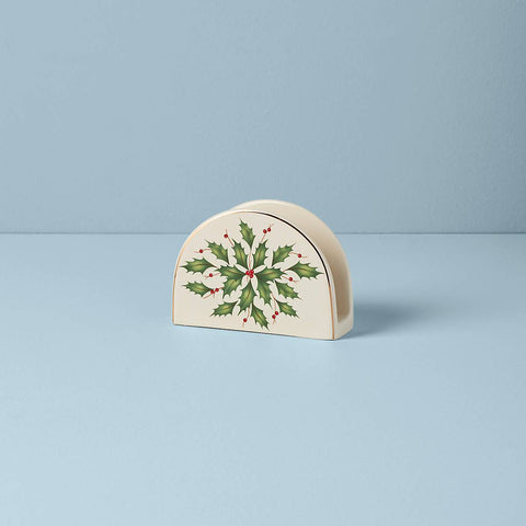 Lenox Hosting The Holidays™ Napkin Holder Dalmazio Design