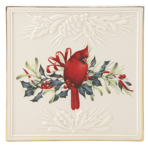 Lenox Winter Greetings™ Square Trivet Dalmazio Design