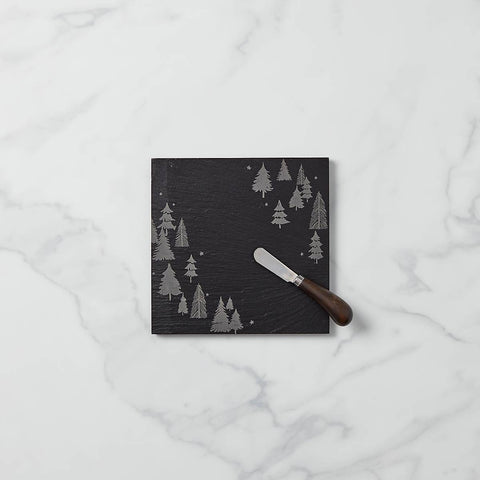 Dalmazio Design - Lenox - Balsam Lane Slate Cheeseboard & Knife Set - 50% OFF