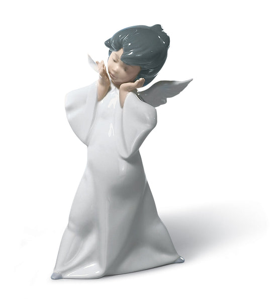 Lladro Mime Angel Figurine - Dalmazio Design