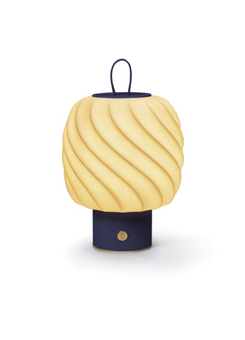 Lladro Ice Cream portable lamp. Medium. Blue Dalmazio Design