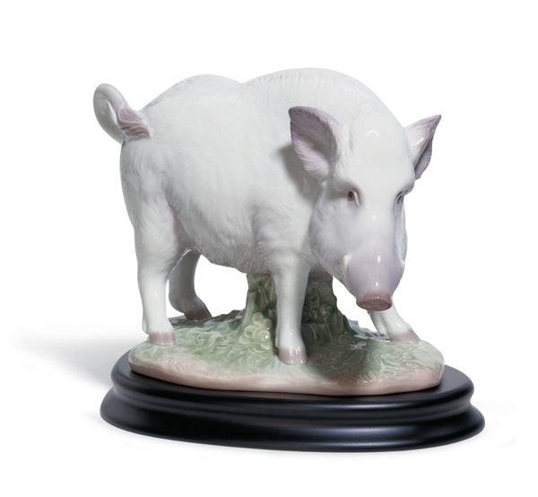 Lladro The Boar Figurine - Dalmazio Design
