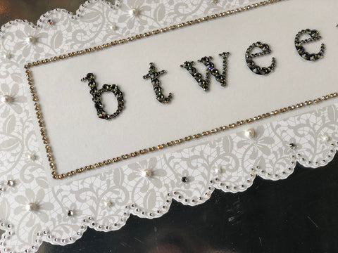 Keepsake Swarovski Plaque - Branded Logo