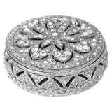 Olivia Riegel Silver Windsor round Box Dalmazio Design