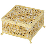 Olivia Riegel Gold Windsor Large Box Dalmazio Design