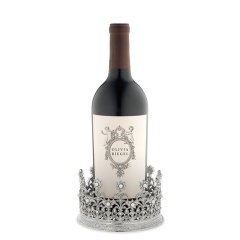 Diana Crown Wine Coaster