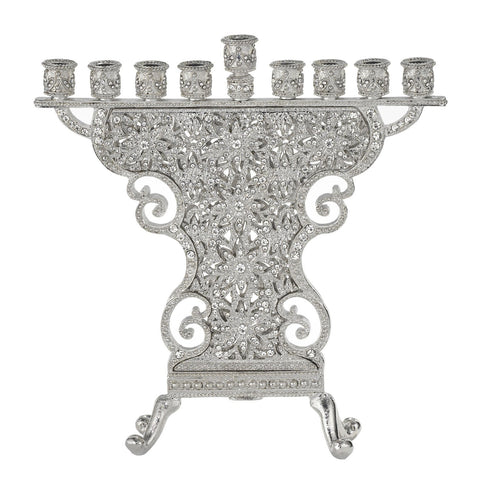 Olivia Riegel Silver Windsor Menorah Dalmazio Design