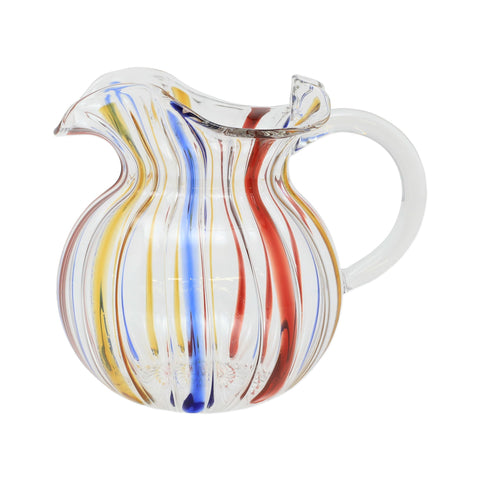 Vietri Carnevale Three-Spout Pitcher Dalmazio Design