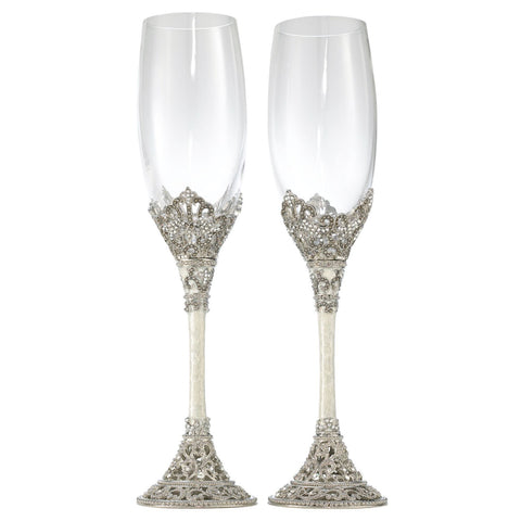Celebration Flute Set of 2 - 7 Oz.