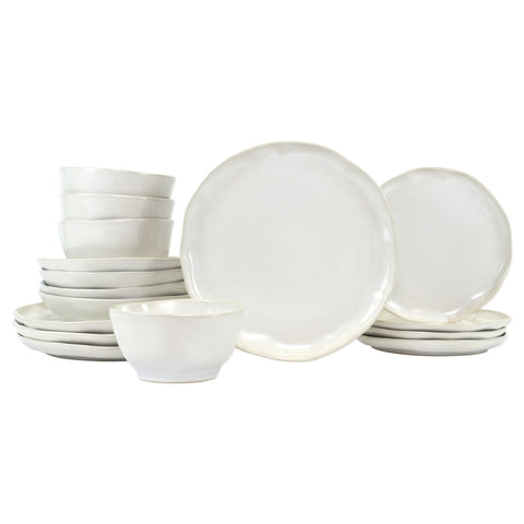 Forma Cloud Sixteen-Piece Place Setting