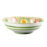 Vietri Campagna Gallina Large Serving Bowl Dalmazio Design