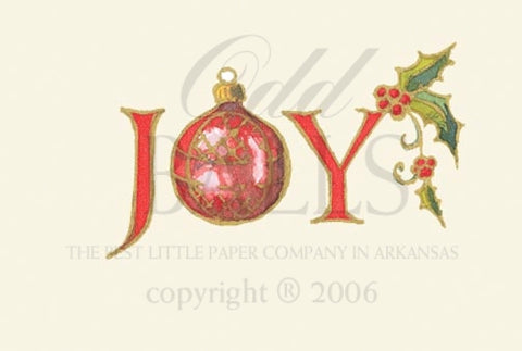 Oh, Joy! Unprinted Christmas Cards (Set of 100)