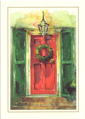 Scarlet Door Personalized Christmas Cards (Set of 50)