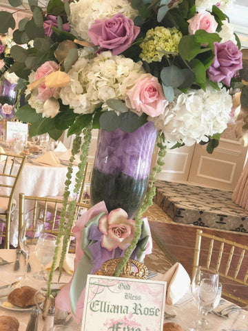 Dalmazio Design Fairy Tale Fresh Floral Centerpiece Rental