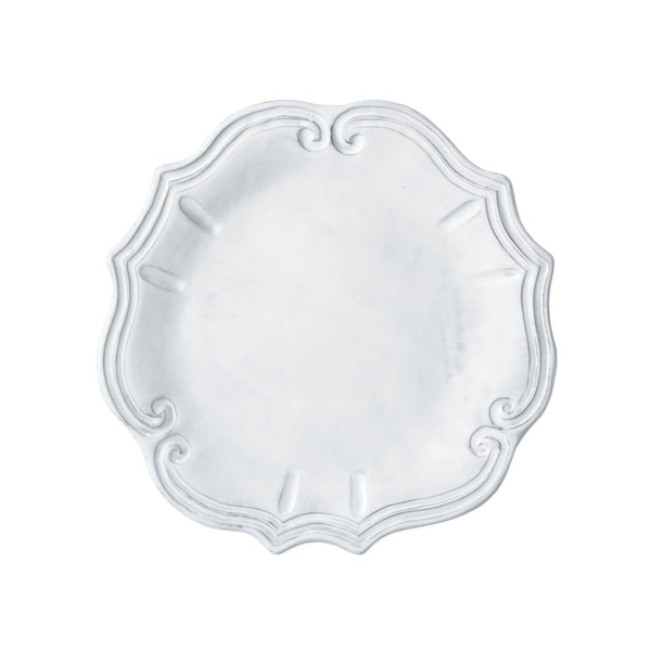 Vietri Incanto Baroque European Dinner Plate Dalmazio Design