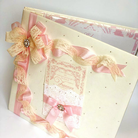 Keepsake Guestbook/ Scrapbook