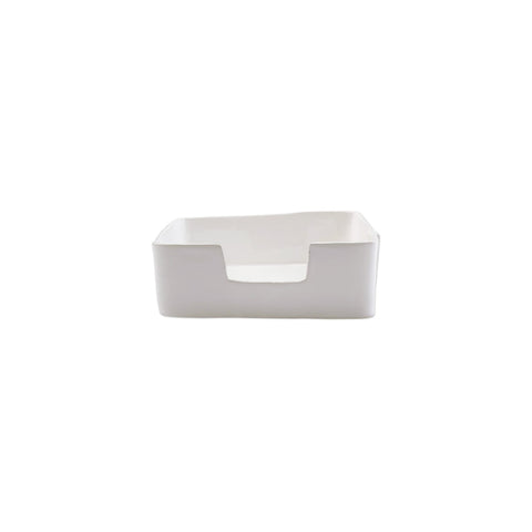 Lastra White Dinner Napkin Holder