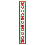 Vietri Old St. Nick Table Runner Dalmazio Design