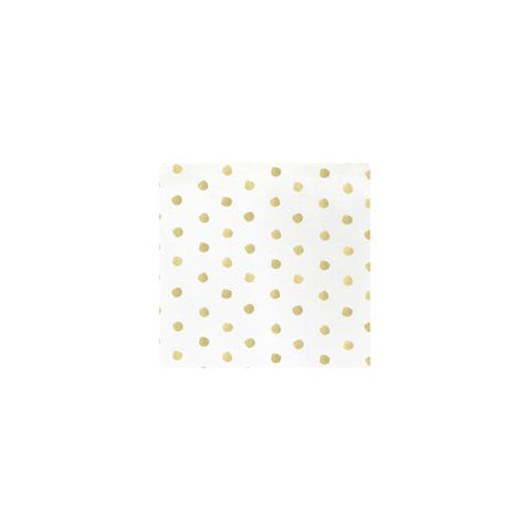 Vietri Papersoft Napkins Linen Dot Cocktail Napkins (Pack of 20) Dalmazio Design