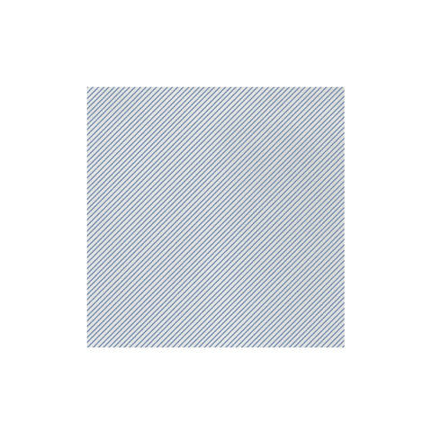 Vietri Papersoft Napkins Seersucker Stripe Blue Dinner Napkins (Pack of 20) Dalmazio Design