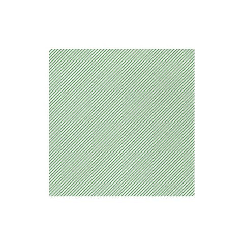 Vietri Papersoft Napkins Seersucker Stripe Green Dinner Napkins (Pack of 50) Dalmazio Design
