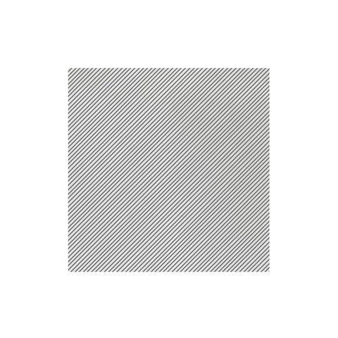 Vietri Papersoft Napkins Seersucker Stripe Gray Dinner Napkins (Pack of 20) Dalmazio Design