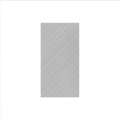 Vietri Papersoft Napkins Seersucker Stripe Gray Guest Towels (Pack of 50) Dalmazio Design