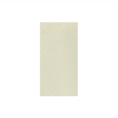 Vietri Papersoft Napkins Seersucker Stripe Linen Guest Towels (Pack of 50) Dalmazio Design