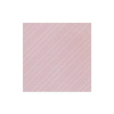 Vietri Papersoft Napkins Seersucker Stripe Red Dinner Napkins (Pack of 50) Dalmazio Design