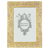 "Olivia Riegel Gold Windsor 4"" X 6"" Frame Dalmazio Design"