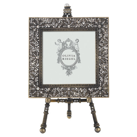 "Bronze Windsor 4"" x 4"" Frame on Easel"