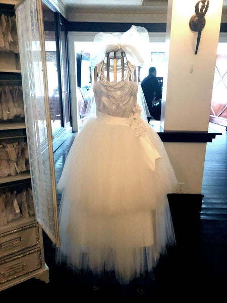 Dalmazio Design Romance Dress Form w/ Gown & Veil Rental
