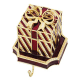 Olivia Riegel Red Gift Box Stocking Holder Dalmazio Design