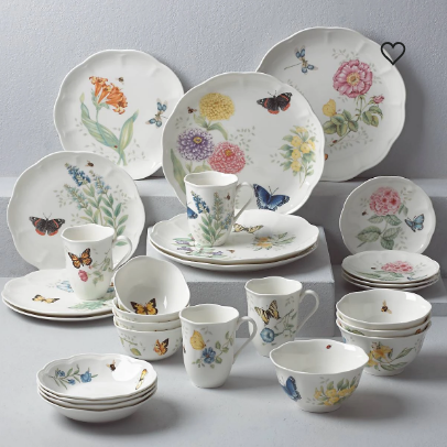 Butterfly Meadow 28-piece Dinnerware Set